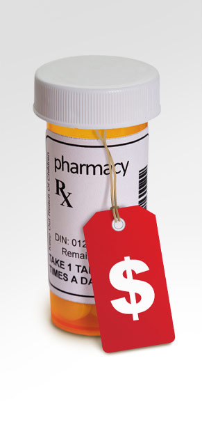 Want to see high prescription prices go down? See us.